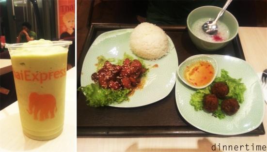 Thai express set meal